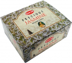 View Buying Options For The HEM Precious Jasmine Boxed Incense Cones [Pre-Pack]