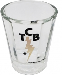 View Buying Options For The Elvis Presley TCB Optic Shot Glass