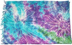 View Buying Options For The Tie Dye Sun Sarong Wrap