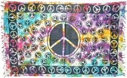 View Buying Options For The Peace Sign Sarong Wrap