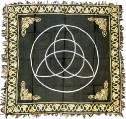 View Buying Options For The Triquetra Symbol Altar Table Cloth