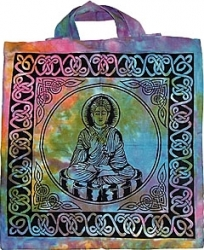 View Buying Options For The Buddha Tye Dye Tote Bag
