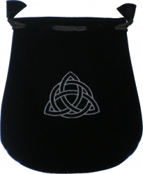 View Buying Options For The Charmed Double Sided Drawstring Velvet Pouch/Bag [Pre-Pack]