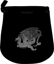 View Buying Options For The Dragon Double Sided Drawstring Velvet Pouch/Bag [Pre-Pack]