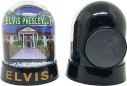 View Buying Options For The Elvis Presley Blvd. Snowglobe Magnet