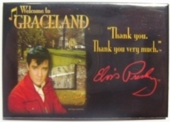View Buying Options For The Elvis Presley Welcome To Graceland Magnet [Pre-Pack]