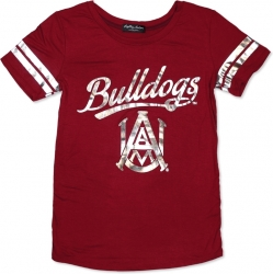 View Buying Options For The Big Boy Alabama A&M Bulldogs S2 Ladies Jersey Tee