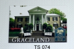 View Buying Options For The Elvis Presley Graceland House Photo Postcards [Pre-Pack]