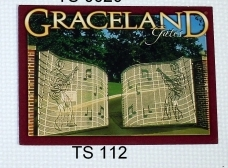View Buying Options For The Elvis Presley Graceland Gates Postcards [Pre-Pack]
