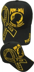 View Buying Options For The POW MIA Logo Ribbon Emblem Mens Cap