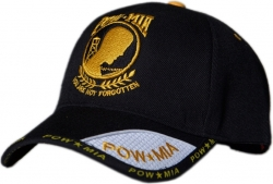 View Buying Options For The POW MIA You Are Not Forgotten Logo Shadow Web Mens Cap