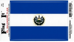 View Buying Options For The El Salvador Flag Car Decal Sticker [Pre-Pack]