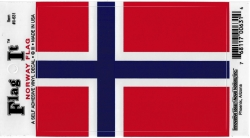View Buying Options For The Norway Flag Car Decal Sticker [Pre-Pack]