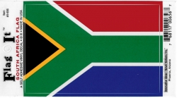 View Buying Options For The South Africa Flag Car Decal Sticker [Pre-Pack]