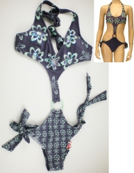 View Buying Options For The Sparking Flower Monokini 2-Piece Junior Womens Fashion Bikini