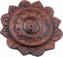 View Buying Options For The Madina Sun Flower Shaped Plate Ash Catcher Incense Holder [Pre-Pack]