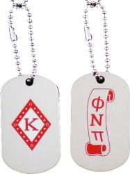 View Buying Options For The Kappa Alpha Psi Diamond & Scroll Double Sided Dog Tag