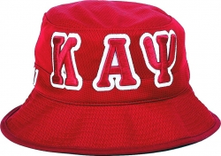 View Buying Options For The Kappa Alpha Psi Big Letter Mens Floppy Bucket Mesh Hat