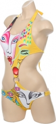 View Buying Options For The Japanese Geisha Monokini 2-Piece Mid-Ring Junior Womens Bikini