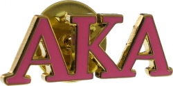 View Buying Options For The Alpha Kappa Alpha Color Classic Lapel Pin