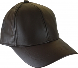 View Buying Options For The Classic Plain Solid Color Leather Fitted Mens Baseball Cap