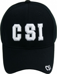 View Buying Options For The CSI 3D Text Classic Mens Cap