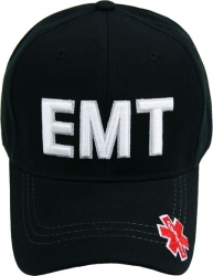 View Buying Options For The EMT Text Letters Logo On Bill Mens Cap