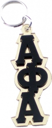 View Buying Options For The Alpha Phi Alpha Stacked Letter Keyring Mirror Key Chain
