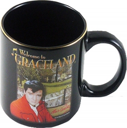 View Buying Options For The Elvis Presley Welcome To Graceland Mural Coffee Mug