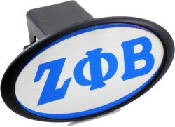 View Buying Options For The Zeta Phi Beta Mirror Domed Trailer Hitch Cover