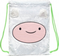 View Buying Options For The Adventure Time Finn Big Face Furry Cinch Drawstring Bag