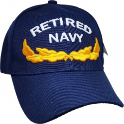 View Buying Options For The Retired Navy Scrambled Eggs Mens Cap