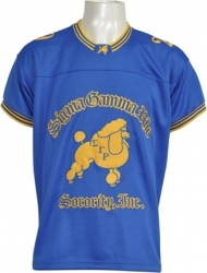 View Buying Options For The Sigma Gamma Rho Sorority Ladies Football Jersey