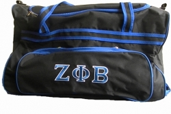 View Buying Options For The Zeta Phi Beta Carry-On Luggage Trolley Bag
