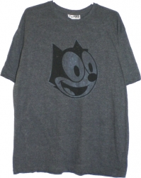 View Buying Options For The Felix The Cat Big Face Slim-Fit Mens Tee