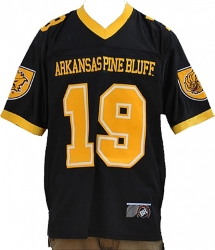 View Buying Options For The Arkansas Pine Bluff Golden Lions S6 Mens Football Jersey