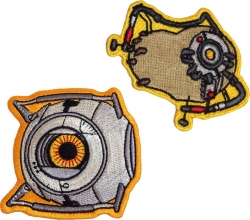 View Buying Options For The Portal 2 Space Core & Potados Iron-On Patches [Pre-Pack]