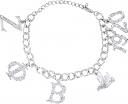 View Buying Options For The Greek Sorority Austrian Crystal Charm Bracelet