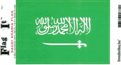 View Buying Options For The Saudi Arabia Flag Car Decal Sticker [Pre-Pack]
