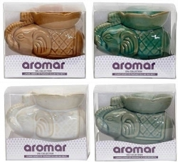 View Buying Options For The Aromar Ceramic Elephant Candle Aroma Lamp