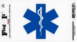 View Buying Options For The EMS Emergency Medical Services Symbol Car Decal Sticker [Pre-Pack]