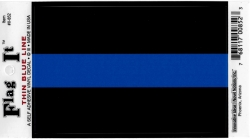 View Buying Options For The Thin Blue Line Car Decal Sticker [Pre-Pack]