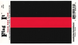 View Buying Options For The Thin Red Line Car Decal Sticker [Pre-Pack]