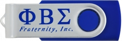 View Buying Options For The Phi Beta Sigma Fraternity Inc. 4GB USB 2.0 Flash Jump Drive