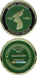 View Buying Options For The Korean War Veteran Forever Proud 1950-1953 Challenge Coin
