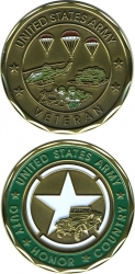 View Buying Options For The US Army Veteran Duty Honor Country Challenge Coin