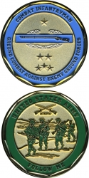 View Buying Options For The Combat Infantryman CIB US Army Follow Me Challenge Coin