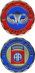 View Buying Options For The 82nd Airborne Division All American Challenge Coin