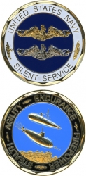 View Buying Options For The United States Navy Silent Service Challenge Coin