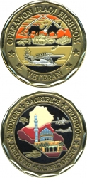 View Buying Options For The Operation Iraqi Freedom Veteran Challenge Coin
